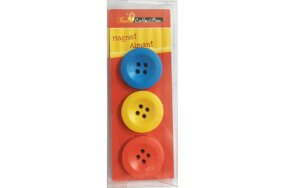 MAGNETS BUTTONS SET/3PCS